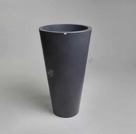 Donica Della - 90cm - ciemny marmurek
