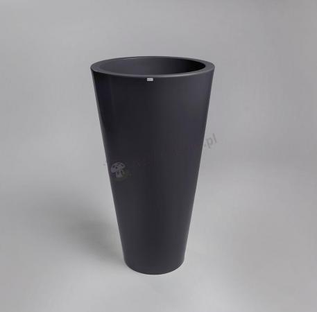 Donica Della - 90cm - stylowy antracyt