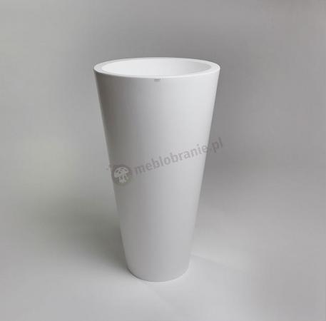 Donica Della - 90cm - krystaliczna biel