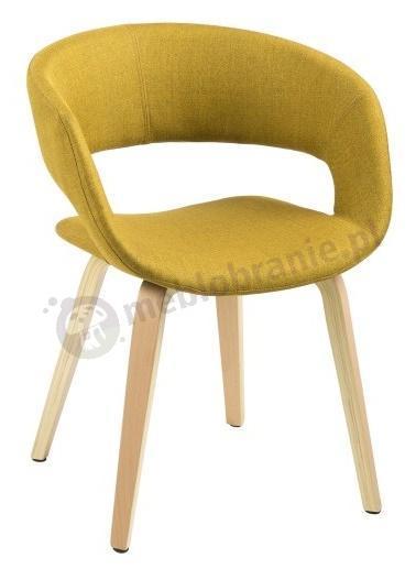 Actona Grace wygodne krzesło do jadalni - widok z przodu