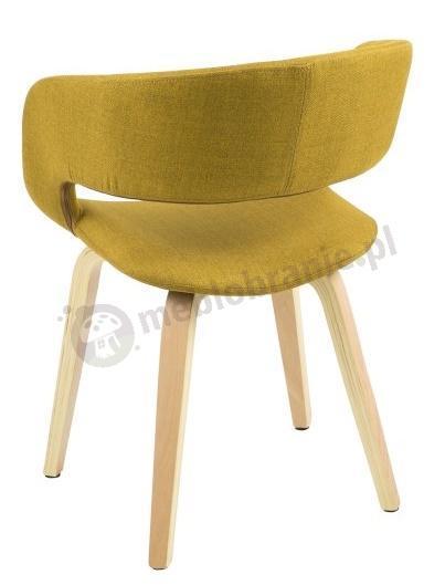 Actona Grace wygodne krzesło do jadalni - widok z tyłu