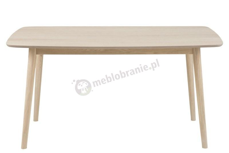 Actona Nagano stół dębowy bielony