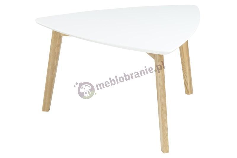 Actona Vitis stolik kawowy design skandynawski biały