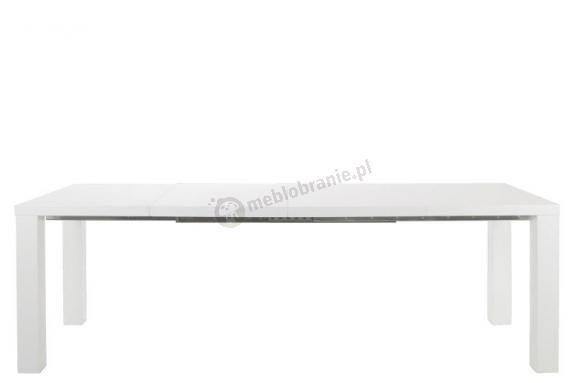 Actona Spicy stół nowoczesny rozkładany biały wysoki połysk