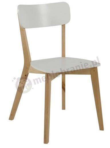 Actona Raven minimalistyczne krzesło styl skandynawski - widok z przodu