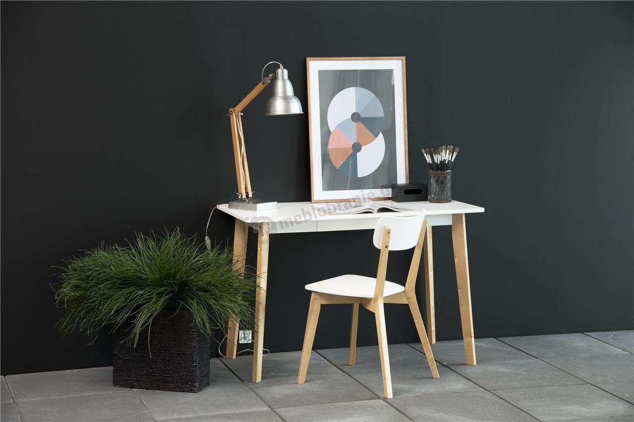 Actona Raven krzesło drewniane - aranżacja