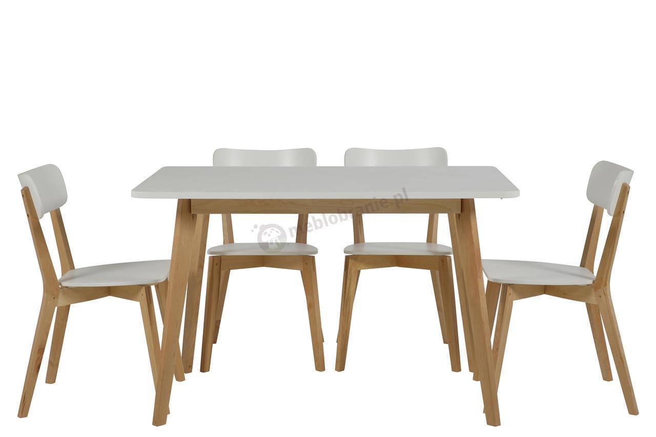 Actona Raven stół w stylu skandynawskim - aranżacja