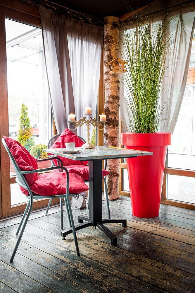 Donica Pons rubinowa czerwień