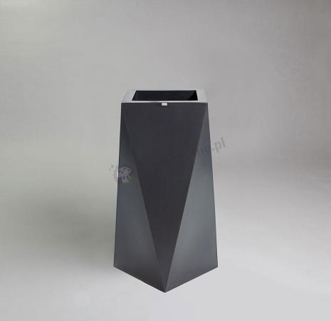 Donica Nevis - 75cm - stylowy antracyt