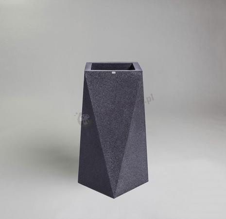 Donica Nevis - 75cm - ciemny marmurek