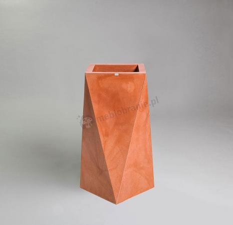 Donica Nevis - 75cm - klasyczna terakota