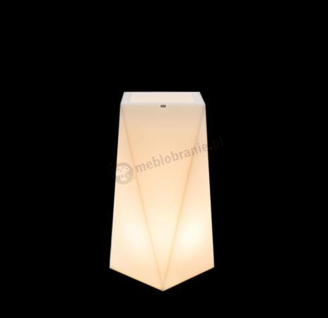 Donica Nevis podświetlana - 75cm - światło ciepłe