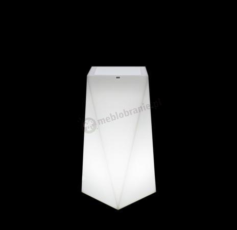 Donica Nevis podświetlana - 75cm - światło zimne