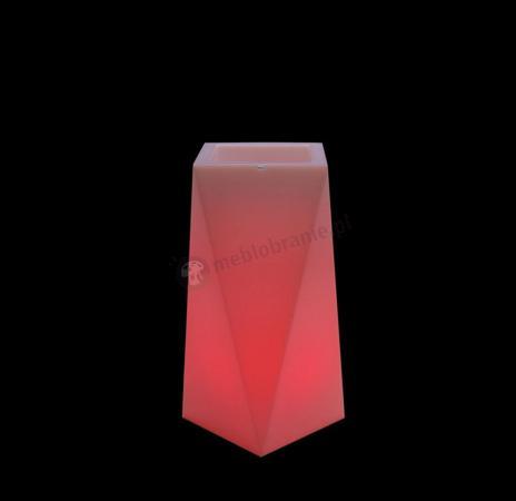 Nevis donica podświetlana - 75cm - LED RGB z pilotem