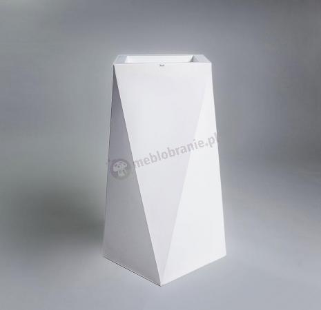 Donica Nevis - 90cm - krystaliczna biel