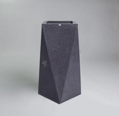 Donica Nevis - 90cm - ciemny marmurek
