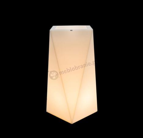 Donica Nevis podświetlana - 90cm - światło ciepłe