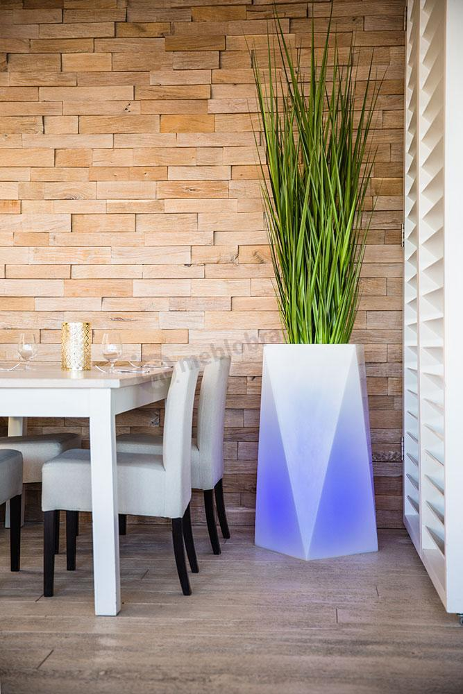 Donica Nevis podświetlana LED RGB