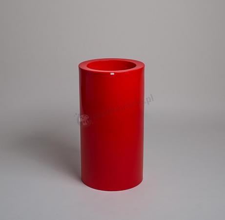 Donica Tilla - 75cm - rubinowa czerwień