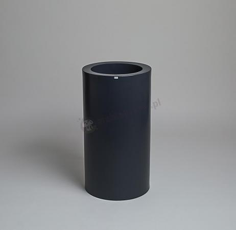 Donica Tilla - 75cm - stylowy antracyt