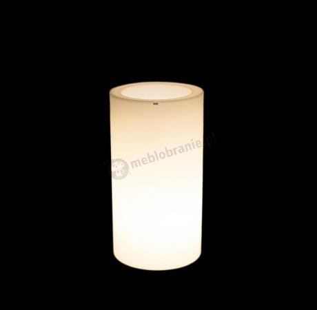 Donica Tilla podświetlana - 75cm - światło ciepłe