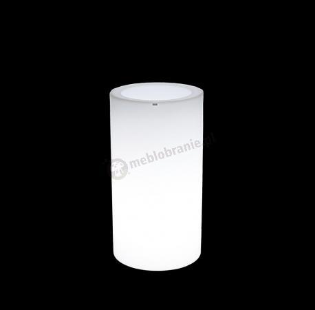 Donica Tilla podświetlana - 75cm - światło zimne