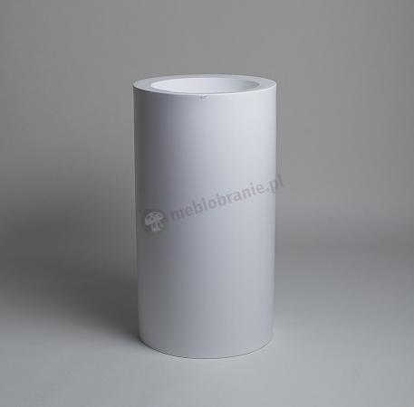 Donica Tilla - 90cm - krystaliczna biel