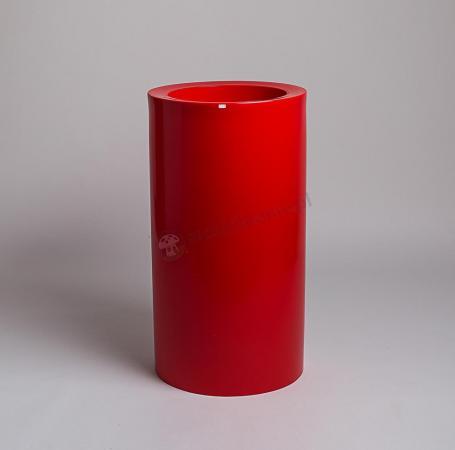Donica Tilla - 90cm - rubinowa czerwień