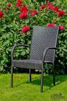 Krzesło technorattanowe Quattro