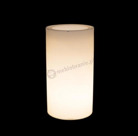 Donica Tilla podświetlana - 90cm - światło ciepłe