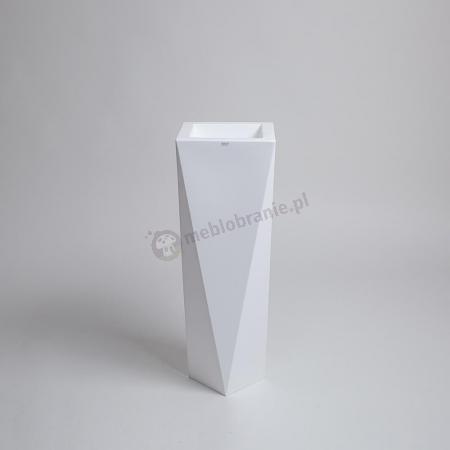 Donica Rossa - 75cm - krystaliczna biel