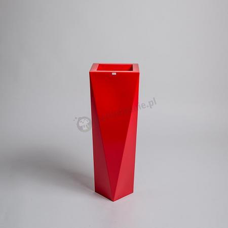 Donica Rossa - 75cm - rubinowa czerwień