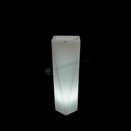 Donica Rossa podświetlana - 75cm - światło zimne