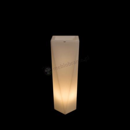 Donica Rossa podświetlana - 75cm - światło ciepłe