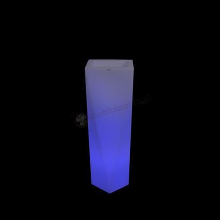 Rossa donica podświetlana - 75cm - LED RGB z pilotem
