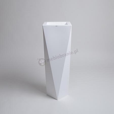 Donica Rossa - 90cm - krystaliczna biel
