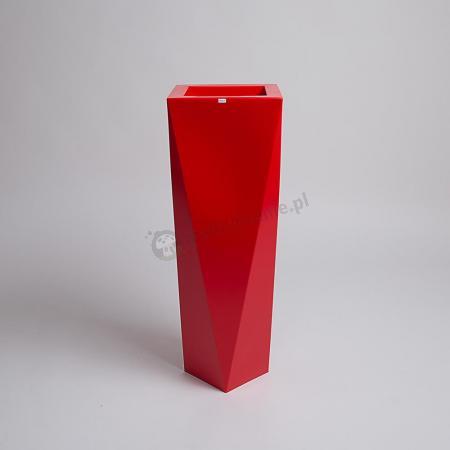 Donica Rossa - 90cm - rubinowa czerwień