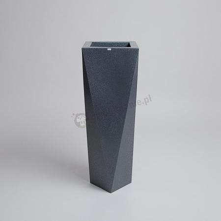 Donica Rossa - 90cm - ciemny marmurek