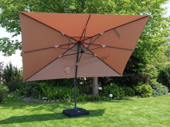 Parasol ogrodowy kwadratowy regulowany Sofia 3D