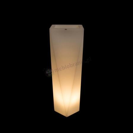 Donica Rossa podświetlana - 90cm - światło ciepłe