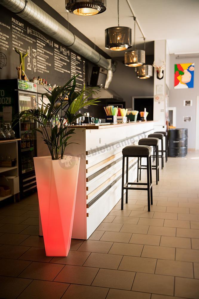 Donica Rossa podświetlana LED RGB