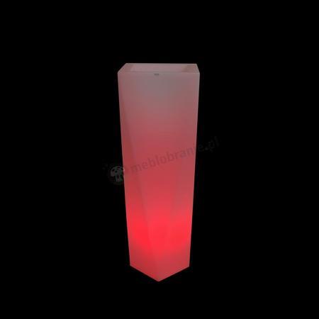 Rossa donica podświetlana - 90cm - LED RGB z pilotem