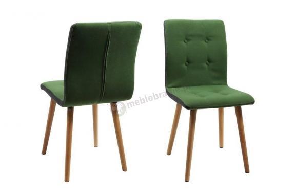 Actona Frida krzesło designerskie w kolorze zielonym