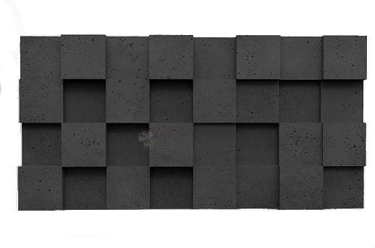 Panele dekoracyjne 3D Pixel Graphite Lava - ZICARO
