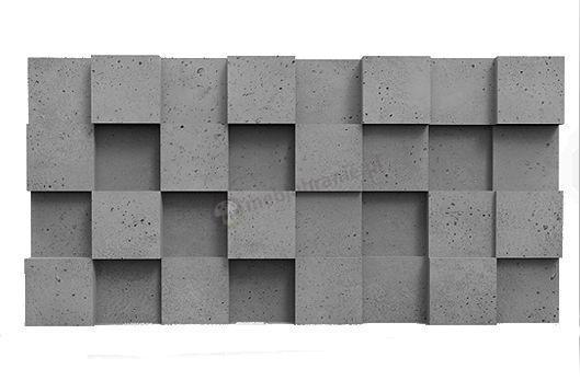 Panele dekoracyjne 3D Pixel Gray Rock - ZICARO