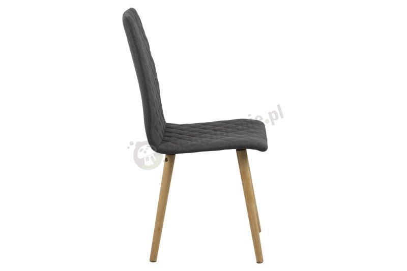 Actona Abna krzesło skandynawskie rzut z boku