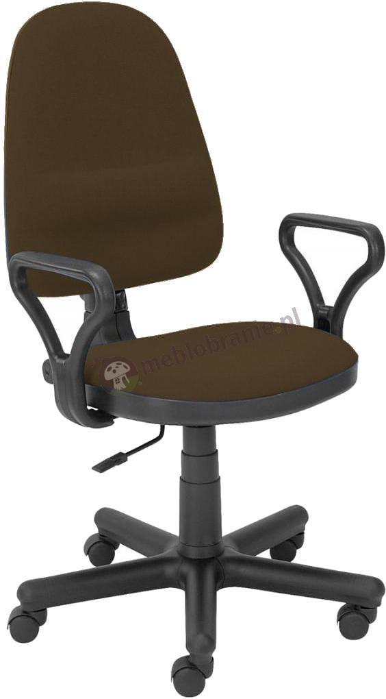 Bravo GTP krzesło na kółkach brązowe C24
