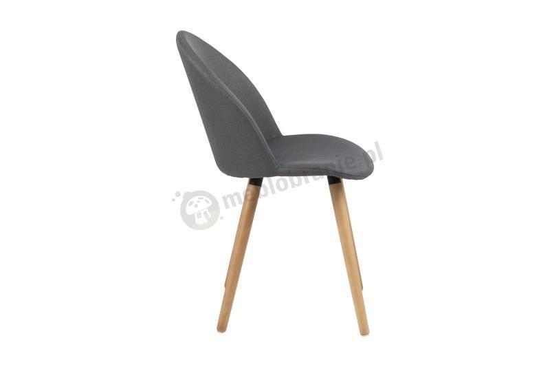 Actona Manley nowoczesne krzesło widok z boku