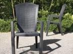 Krzesła Minnesota w ogrodzie