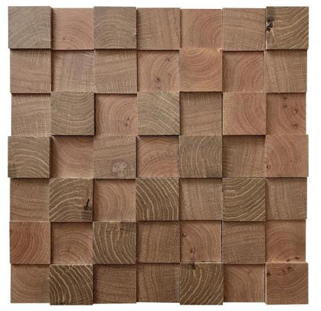 Dąb premium kostka 3D *063 - Natural Wood Panels